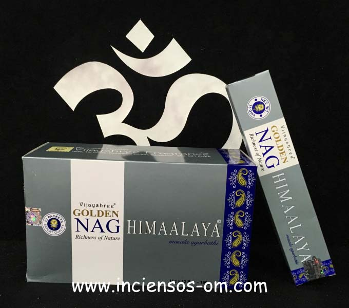 Incienso Golden Nag Himalaya Vijayshree